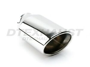 Different Trends Dt 24053a 6 Stainless Exhaust Tip Double Wall Oval Round 6 5