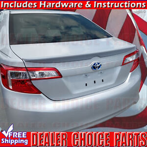 2012 2013 2014 Toyota Camry Oem Factory Style Spoiler Lip Trunk Wing Unpainted