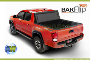 04 2013 Silverado sierra 1500 5 8ft Bed Bakflip Mx4 Hard Tri fold Tonneau Cover