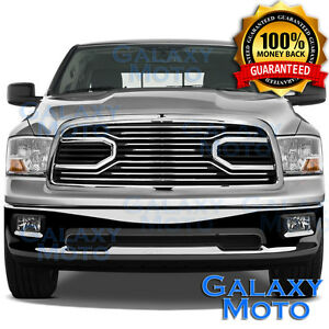 09 12 Dodge Ram Truck 1500 Front Hood Big Horn Chrome Replacement Grille Shell