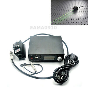 100mw 532nm Green Laser Dot Module Ttl analog 0 30khz tec Cooling adjust Power