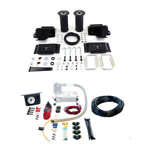 Air Lift Suspension Air Bag Dual Air Path Leveling Kit For Ford F 150 4wd Rwd