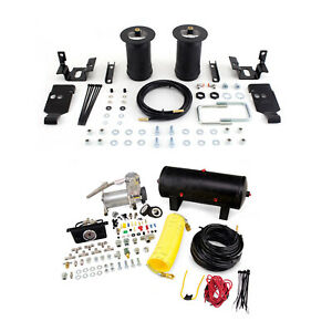 Air Lift Control Air Spring Dual Path Air Compressor Kit For Toyota Tacoma 4wd