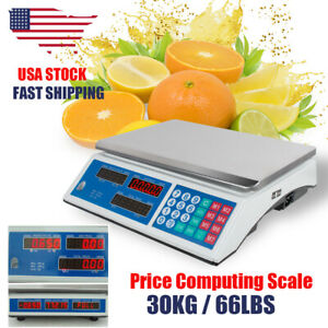 30kg Digital Weight Price Computing Scale Price Computing Commercial Market Use