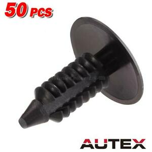 50x Bumper Fender Clips Nylon Retainer Plastic Rivet For Chrysler Lhs Aspen 300