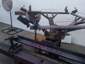 Brown Screen Printing Number Press