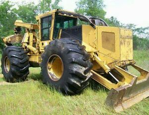 2006 Tigercat 630 C Dual Arch Forestry Skidder