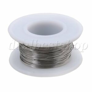 20m 2080 Nichrome Wire 0 4mm Dia Heating Wire Resistance Wires Silver