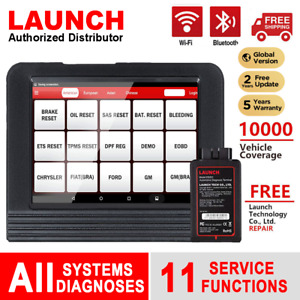 Usa Ship Launch X431 V 8inch Tablet Full System Obd2 Auto Car Diagnostic Scanner