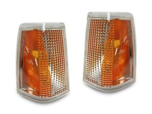 Replacement Left Right Park Corner Signal Lamp Light Fit For 83 89 Volvo 740 760