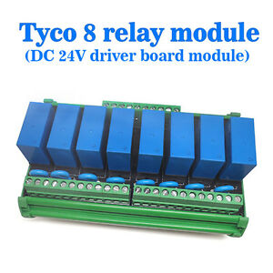 Oeg 8 channel Relay Module Eight Panels Driver Boards Dc 24v