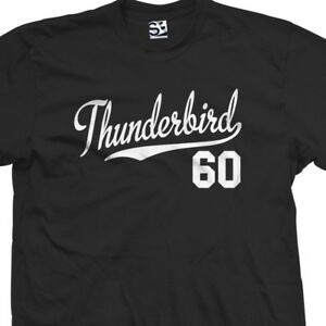 Thunderbird 60 Script Tail Shirt 1960 T bird Classic Car All Size Colors