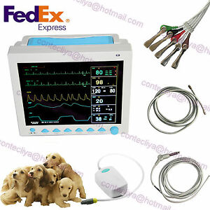 Veterinary Icu Capnograph Etco2 Vital Sign Patient Monitor 7 Parameter Contec Us