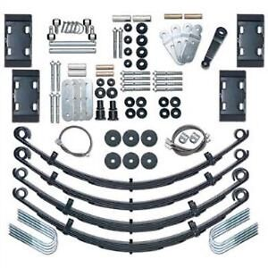 Rubicon Express Re5525 4 5 Extreme Duty Leaf Spring Lift Kit For 76 86 Jeep Cj