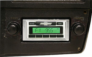 1973 1986 Chevy Pickup Truck Am Fm Stereo Radio Usa 230 200 Watts Auxiliary In