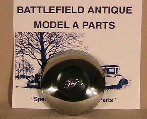 1930 1931 Model A Ford Stainless Steel Hub Caps Set Of Five Fits 19 Wheels