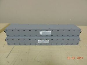 Lot X2 Microwave Devices Rf Band Pass Filters 11cn1747 5 Used untested as is