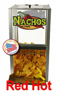 New Paragon Countertop 15 Nacho Chips 2190210 Peanut Popcorn Warmer With Scoop