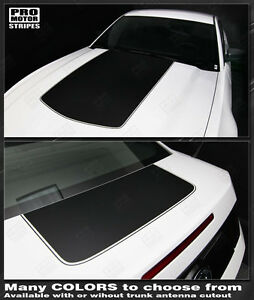 Ford Mustang 2010 2014 Hood And Trunk Stripes Decals Choose Color