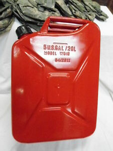 U s g i 5 Gallon W540 Fuel Can With Spout red