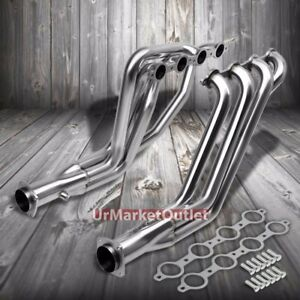 Stainless Steel Exhaust Header Manifold For 67 69 Chevy Camaro pontiac Firebird