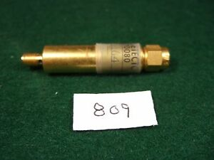 Omni spectra 20080 Crystal Detector 01 12 4 Ghz Sma Rf Port To Ssma Used