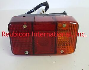 Mahindra Tractor Rear 3 In 1 Lamp Left Side Without T Holder 6420