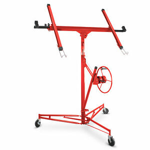 Dry Wall Panel Hoist Lockable Lifter Panel Lift Red