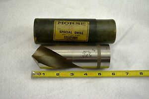 1 3 4 Morse Taper Hs Drill Made In The U s a