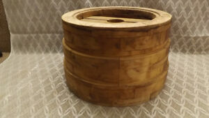 Antique Wooden 20 Flat Wheel Pulley 3 Speed Hit Miss Tractor Steampunk Nice