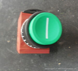Biro Saw 42mc y73 Green Push Button Switch