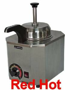Paragon 2028c Pro Deluxe Nacho Cheese Warmer With Heated Spout Holds A 10 Can