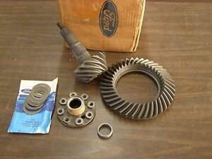 Nos Oem Ford 1983 1987 Rear End Ring Gear Pinion 8 8 Truck Ranger Mustang 1984