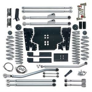 Rubicon Express Re7224 4 5 Extreme Duty Long Arm Lift Kit For Wrangler Jku 4 Dr