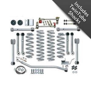 Rubicon Express Re8000t 4 5 Short Arm Lift Kit W Twin Shocks For Grand Cherokee