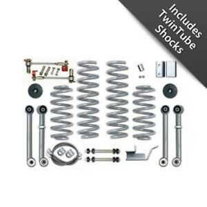 Rubicon Express Re8003t 3 5 Short Arm Lift Kit W Twin Shocks For Grand Cherokee