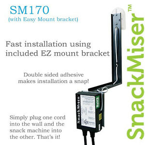Snack Miser Snackmiser Sm 170 Vending Machine Motion Detector New