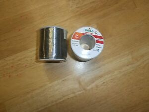 Lot 2 Rosin Core 1 Lb Roll Solder 60 40 032 qualitek Ra300 3 3 Flux new