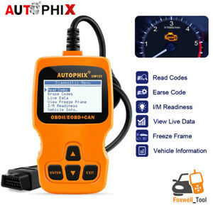 Nl100 Car Obd2 Eobd 10 Test Modes Code Reader Engine Check Battery Health Test
