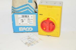 New Baco 0172161 Disconnect Rotary Switch