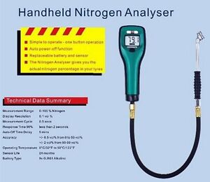 Automobiles G5 Nitrogen Analyser A 1053 Gas Analysis Car Automobile Gas Analyzer