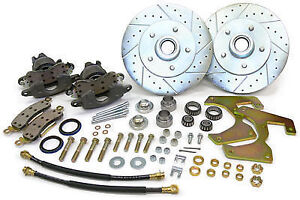 1957 64 Ford F100 Truck Front Disc Brake Conversion Wheel Kit 5 X 5 5