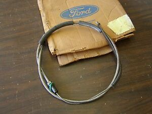Nos Oem Ford 1976 1977 Truck Pickup Rear Brake Cable