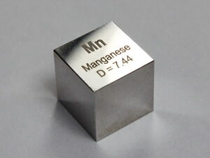 Manganese Density Cube Ultra Precision 10 0x10 0x10 0mm 99 5 Purity