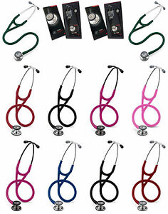 3m Littmann Cardiology Iv Stethoscope 18 Colors Available 7 Years Warranty