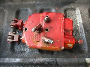 1975 Ih International Farmall 1566 Farm Tractor Brake Valve Free Ship