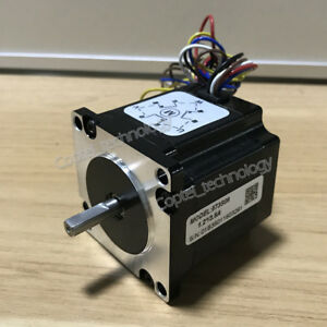Leadshine 3 phase Hybrid Stepper Motor 573s09 0 9n m 3 5a 6 Leads 1 2 Degree