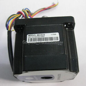 Leadshine 863s22 3 phase 2 2nm 0 96ohm 2 4mh 5a 6 Leads Stepper Motor Nema34