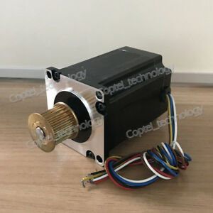 Leadshine Nema 23 3 ph Stepper Motor 573s15 l 1 5nm 5 2a For Cnc Laser Machine
