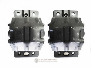 75 81 Pontiac Trans Am 301 400 403 Clamshell Engine Motor Mount Frame Dea Pair